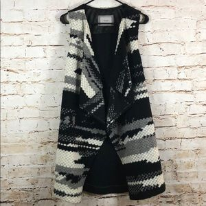 Anthropologie Guest Editor Wool Vest Cardigan